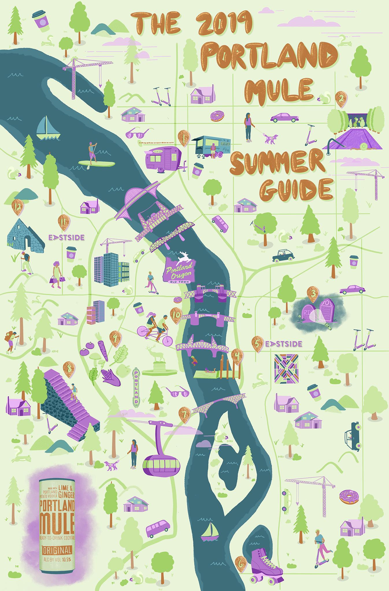 2019 Portland Mule Summer Guide